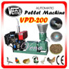 Alimentos para animais de pequeno moinho de péletes profissional para os frangos Vpd-200