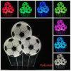 USB 3D van het LEIDENE van de Voetbal van de Verandering van de Kleur van de Bal van het Voetbal van het Bureau Lamp 7 het Licht Bed van Schemerlampen