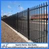 clôture en acier appuyée enduite par poudre chaude de degré de sécurité de lance de ventes de 2100mm