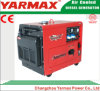 Générateur diesel portatif silencieux superbe de Yarmax refroidi par air