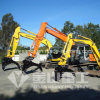 ヒュンダイR55の掘削機油圧クランプバケツ