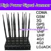 Emisión de la señal del G/M del poder más elevado de 12 antenas