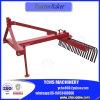 Agriculture Mettre en œuvre la machine de nivellement agricole Tracteur Raker
