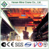 Acería Industry Harsh Work Foundry Bridge Crane con Ladle Hook