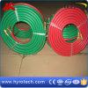 Tuyau tressé de soudure textile vert/rouge
