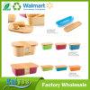 Zoll-unterschiedliche Größen-rechteckiger Bambusfaser-Brot-Kasten