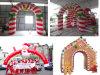 Voûte extérieure imperméable à l'eau de Noël d'Inflatables pour la décoration