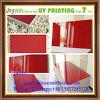 중국 공장 UV 래커 내각 가구 섬유판 빨간 높은 광택 색깔 MDF 장