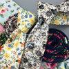 Impresso Floral populares artesanais de retenção de algodão fino