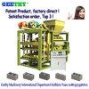 Machine concrète semi automatique de bloc de brique de Qtj4-25c