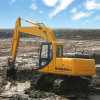 Excavatrice fonctionnante lourde d'excavatrice de marais