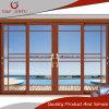 Salto térmico clásico perfil de aluminio Doble Vidrio puerta del panel deslizante