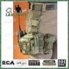 Bolso de la pierna de la gota del Militar-Estilo ISO9001 con las bolsas de radio