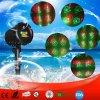 Красный и Зеленый перемещение Хэллоуин 8 план сада лазер на улице с РЧ-ПУЛЬТА ДУ