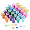 Штемпель Stamper письма игрушки 26 малышей детей OEM цветастый