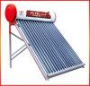 Aquecedor solar de água com suporte de alumínio