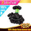 7A China Factory Wholesale Raw brasileiro Material Unprocessed Funmi Hair em 12 ''