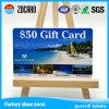 Cartão de crédito de PVC com cartão de identificação de tamanho de crédito