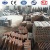 Forro elevado da fresa de aço do manganês para o moinho da esfera Mill/AG