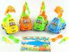 情報処理機能をもったDIYのモデルカーのおもちゃDIYアセンブリ車のおもちゃ、プラスチックおもちゃのトラックDIY-4/5