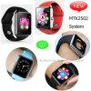 Téléphone mobile intelligent Q7 de montre du support Mtk2502 de carte SIM