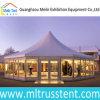 贅沢なアルミニウム玄関ひさし党イベントのガラス八角形の結婚式のテント