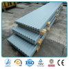 Cruce caliente Prepainted Precio de la hoja de acero corrugado para almacén