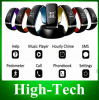 Оптовое L12s OLED Bluetooth 3.0 Bracelet Wristwatch Smart Watch для телефонного звонка Answer/SMS Remind Samsung Android iPhone Ios
