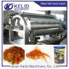Extensamente maquinaria aquática Turnkey da alimentação dos peixes do uso