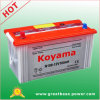 N100 Dry Charge Battery Explosionproof Dry Battery 12V100ah