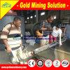 Машина золота концентратора таблицы золота отдельно
