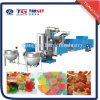 A linha de produção de doces de gelatina de frutas