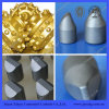 Dientes tricónicos del botón de la cuña del aceite y del carburo del uso del trépano de sondeo del pozo