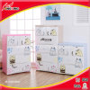 Kitchenのための3つの層のCartoon Design Printing Plasticの食器棚