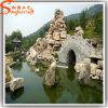 Cachoeira artificial do jardim ornamental da fibra de vidro original do estilo para a decoração