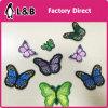 Ferro sulla zona della farfalla colorata modo