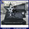 Het Aangepaste Monument van de metselaar Frankrijk Weinig Prins in Indische Zwarte