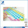 Ярлык стикера клавиатуры компьтер-книжки нестандартной конструкции арабский