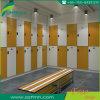 Venta caliente HPL Amarillo taquillas para gimnasio Club