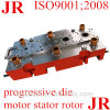 Прогрессивная штемпелюя прессформа для части автомобиля нержавеющей стали