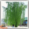 Искусственные зеленый ивы деревьев для использования вне помещений оформление