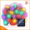 LED de 50 Chuzzle decorativos Árbol de Navidad bola de luz de la cadena de Energía Solar