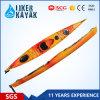 Cheap Plastic 450 Cm Pessoa solteira sente-se no oceano Canoa de mar / caiaque com leme