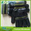Bordado impresión offset acrílico guantes de punto de invierno Guantes de dispensación caliente