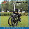 Bicicleta plegable eléctrica de bolsillo de 20 con 36V 10.4ah Li-ion