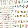 Collant de clou de collants d'art de clou de l'eau d'arbre de bonhomme de neige de Santa de Noël