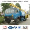 camion dello spruzzatore dell'acqua dell'euro 4 di 7cbm 7ton Dongfeng con la piattaforma di lavoro aereo