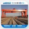 Grue de portique, double grue de portique de poutre, grue sur rail