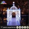 Luz ao ar livre comercial do motivo do arco do diodo emissor de luz da decoração do Archway do Natal 2017