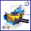 Máquina de acero de la embaladora de la chatarra de los tubos del motor diesel